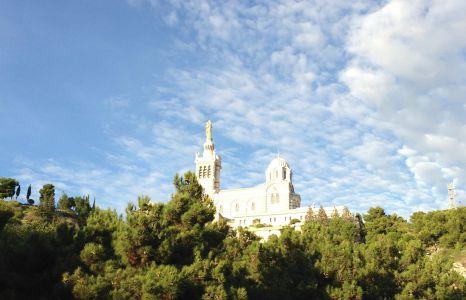 La basilique Notre-Dame de la Garde