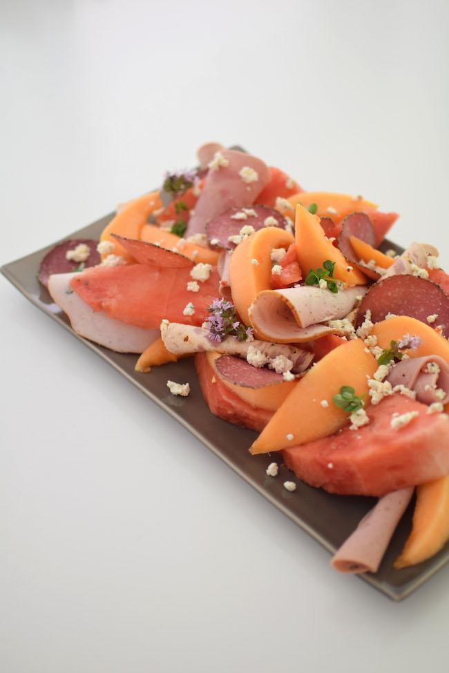 La salade melon jambon | LovaLinda | Blog Photo Cuisine Marseille Recettes