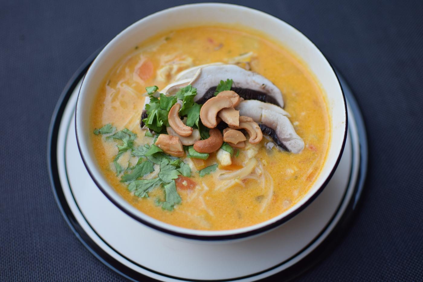 La soupe de poulet curry et coco lovalinda - Peut on congeler de la soupe ...