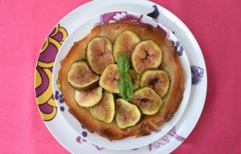 La tarte fine aux figues