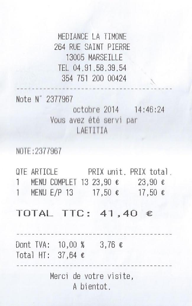 Le Treize La Timone | LovaLinda | Blog Lifestyle Sorties Restaurant Marseille Note