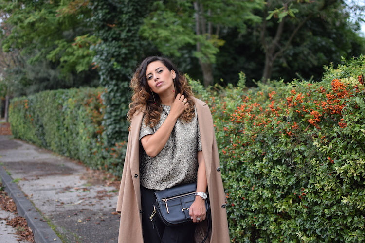 Le gold glam | LovaLinda | Blog Photo Mode Look Marseille | Asos, Malene Birger, 3.1 Phillip Lim, Saint-Laurent, Fendi, Jas Jewellery
