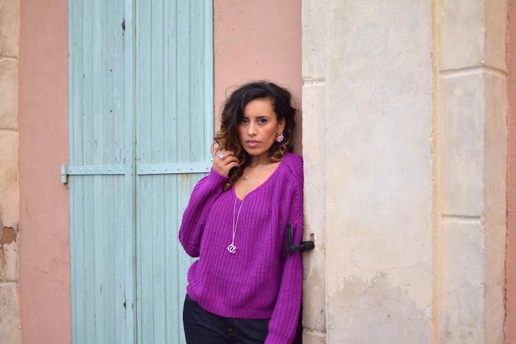 Le maille way | LovaLinda | Blog Photo Mode Look Marseille | Nastygal, Victoria Beckham Jeans, RiverIsland, Nicholas Kirkwood, Antik Batik, Dinh Van