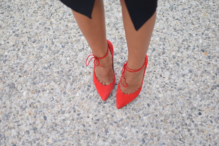 Le rouge et le noir | LovaLinda | Blog Mode Photo Lifestyle Marseille | Bionda Castana Pumps