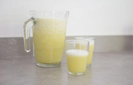 Le smoothie chou et ananas