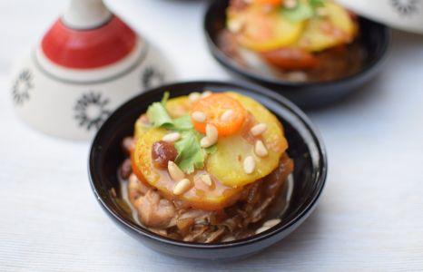 Le tajine de poulet et kumquats