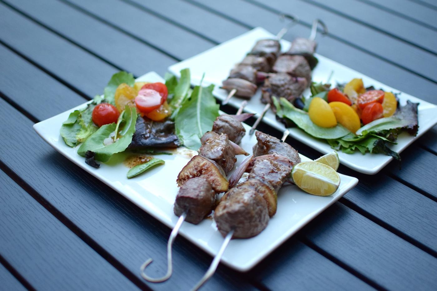 Les brochettes de bœuf et figues  | LovaLinda | Blog Photo Cuisine Marseille Recettes
