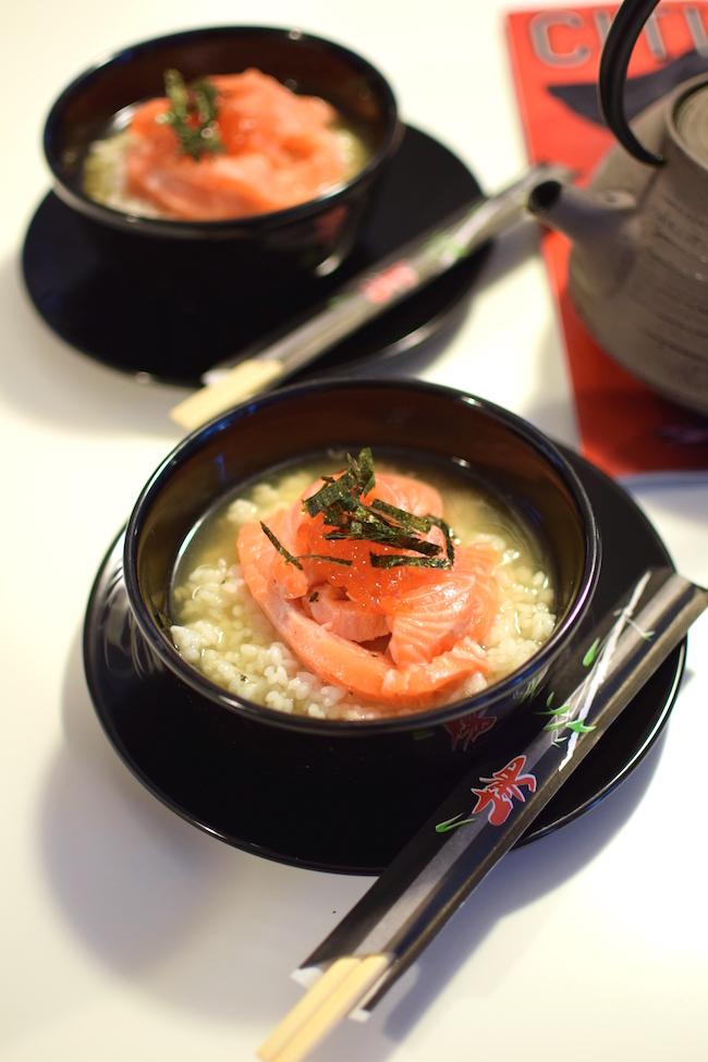 L'ochazuke japonais | LovaLinda | Blog Photo Cuisine Recette Soupe