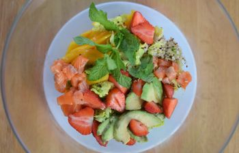 La salade complète