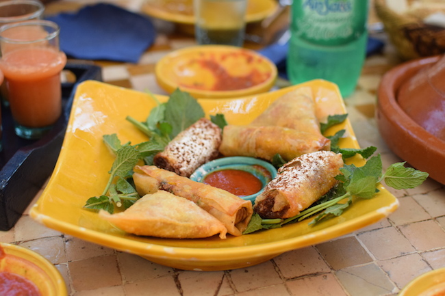La Sqala Café Restaurant Maure Casablanca | LovaLinda | Blog Photo Sortie Lifestyle Maroc Medina Casablanca | Briouates