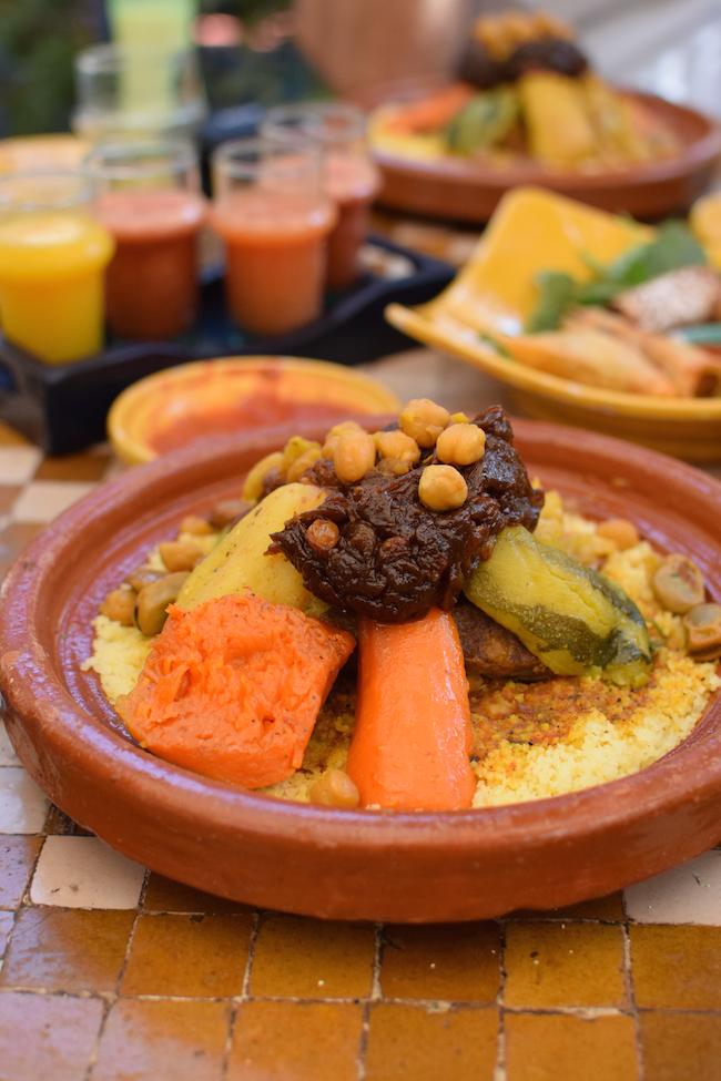 La Sqala Café Restaurant Maure Casablanca | LovaLinda | Blog Photo Sortie Lifestyle Maroc Medina Casablanca | Couscous