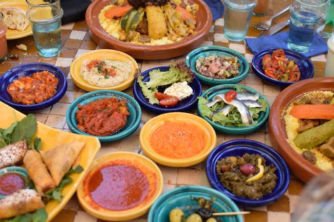 La Sqala Café Restaurant Maure Casablanca | LovaLinda | Blog Photo Sortie Lifestyle Maroc Medina Casablanca | Mezze