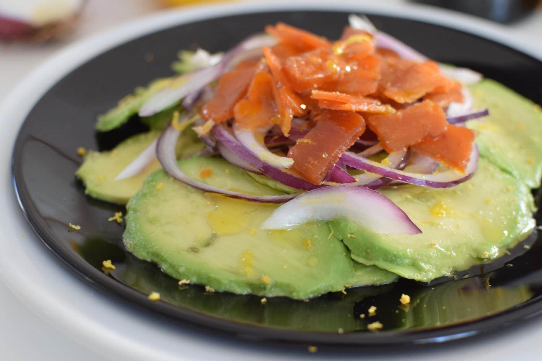 L'avocat boutargue | LovaLinda | Blog Photo Cuisine Entrée Salade