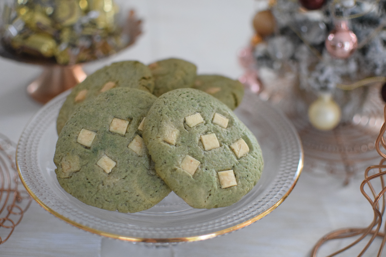 Les cookies au matcha | LovaLinda | Blog Photo Cuisine Pâtisserie Gâteau Thé Vert TBDM Pépites chocolat blanc