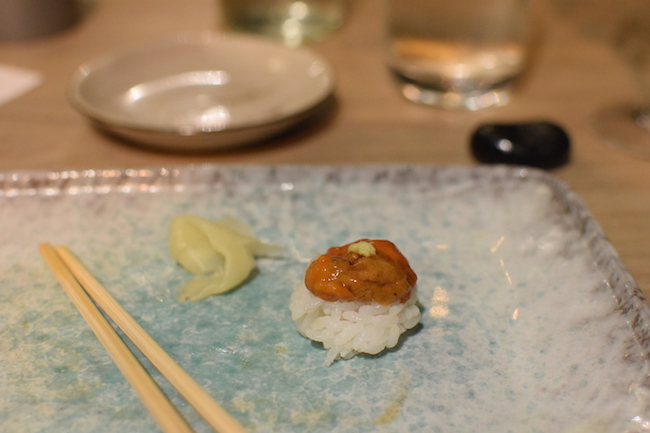 L'extase Simple Sushi | LovaLinda | Blog Photo Lifestyle Sortie Restaurant Marseille Japonais | Sushi Oursin