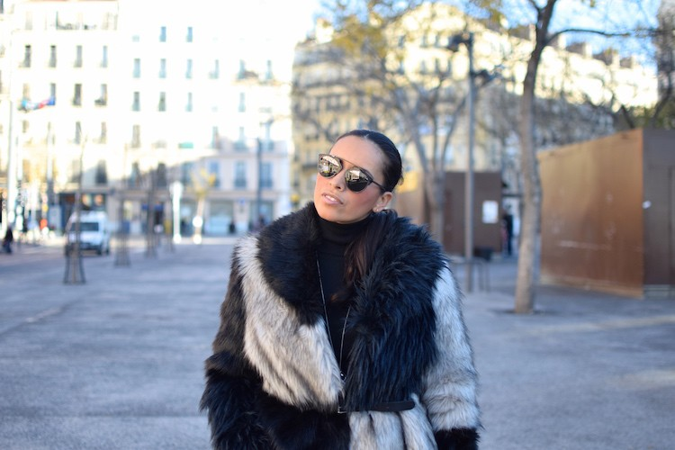 La nouvelle structure | LovaLinda | Blog Mode Look Marseille | American Retro Coat x Proenza Schouler Bag x Stella McCartney Jumper x Saint Laurent Studded Rangers x Dior Sunglasses