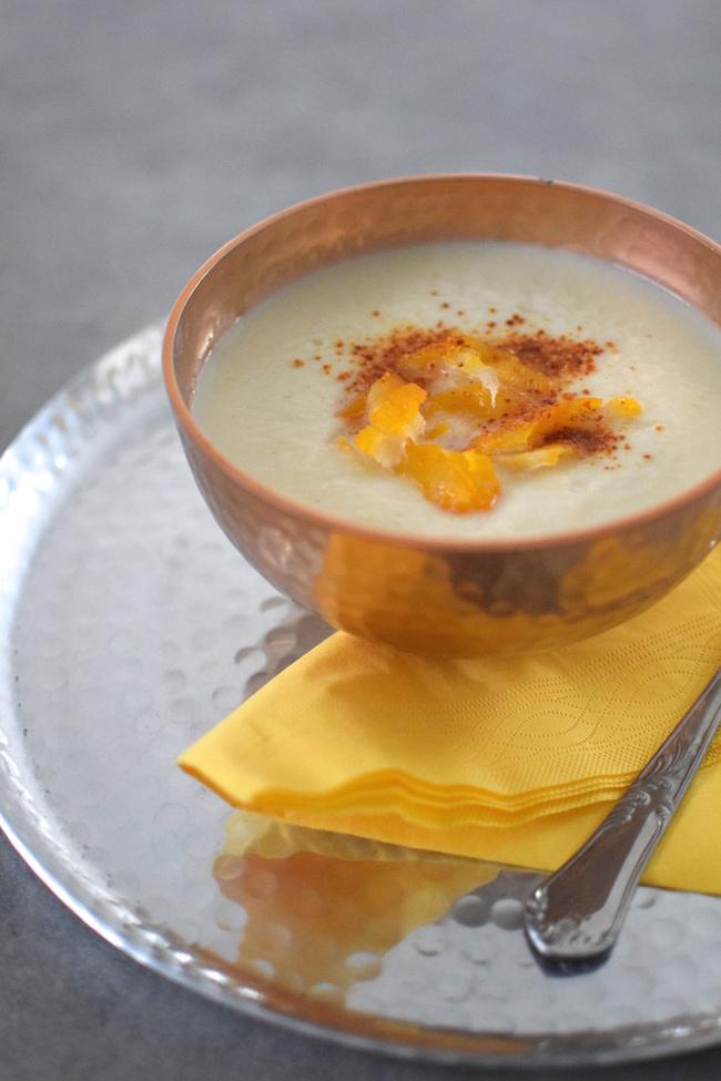 La soupe de céleri au haddock | LovaLinda | Blog Photo Cuisine