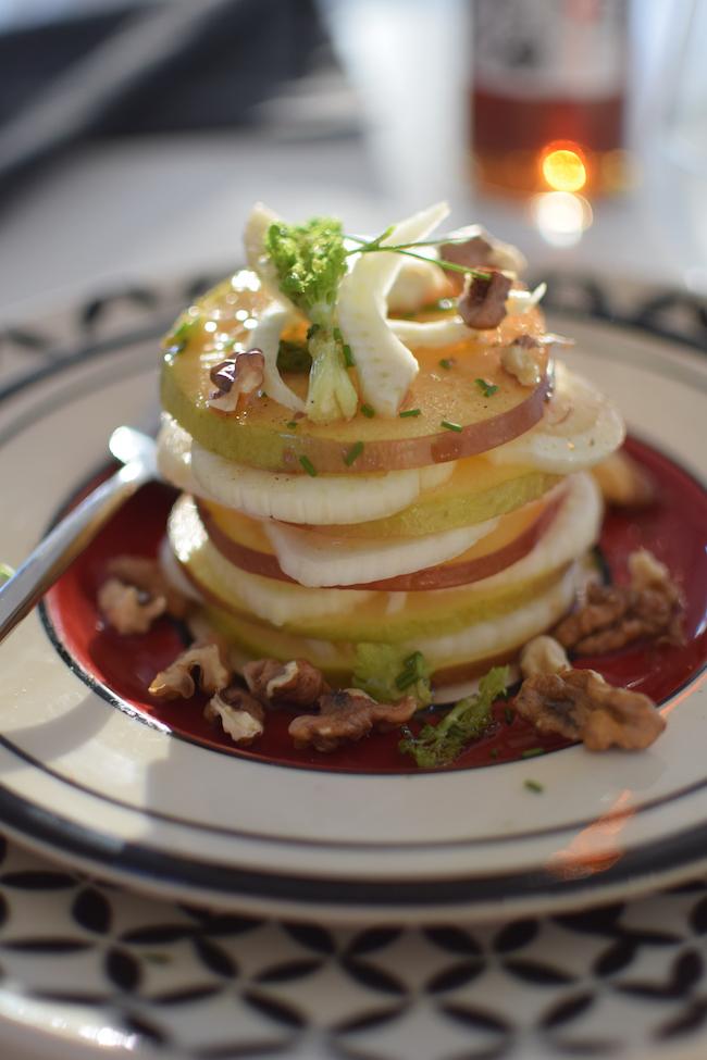 Le millefeuille de pommes, noix et fenouil | LovaLinda | Blog Cuisine Photo