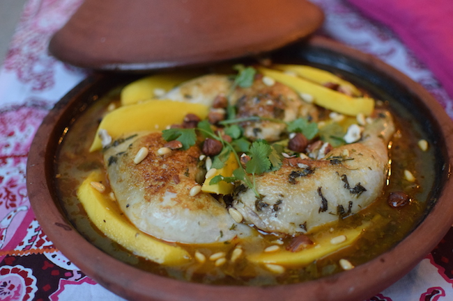 Le tajine mangue poulet | LovaLinda | Blog Photo Cuisine