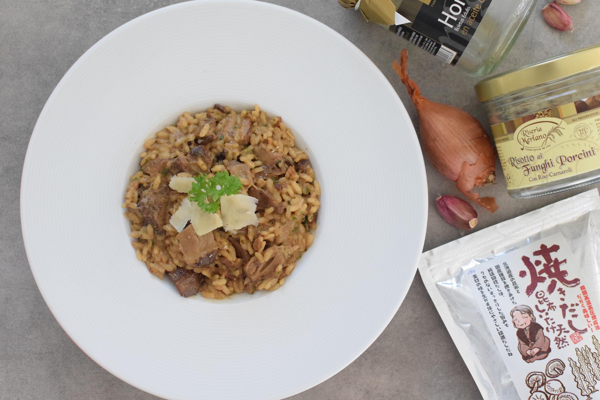 Risotto aux champignons | LovaLinda | Blog Cuisine Recettes Plats Principal