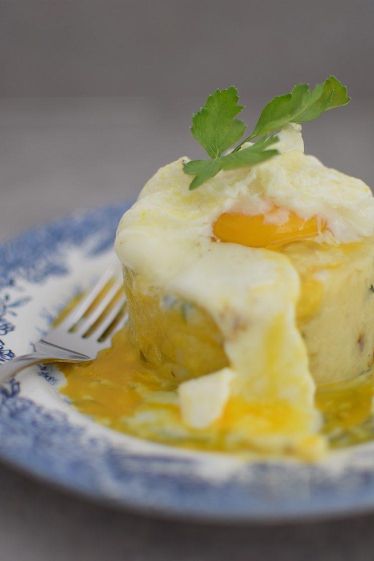 L'écrasé d'amandines à l'œuf poché | Blog Recettes Pommes de Terre Cuisine Brunch | LovaLinda