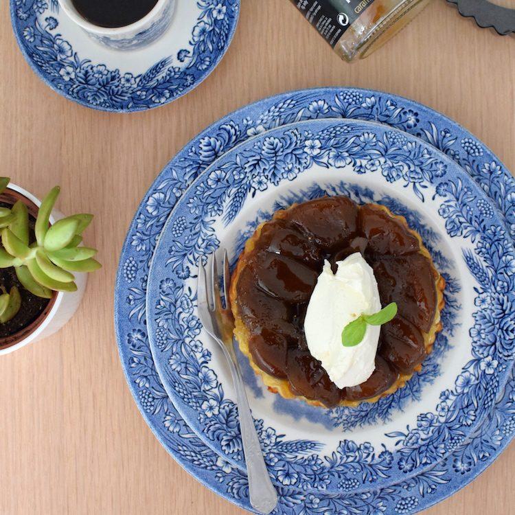 La tarte tatin aux figues | LovaLinda | Blog | Cuisine Recettes Dessert | Pâtisserie