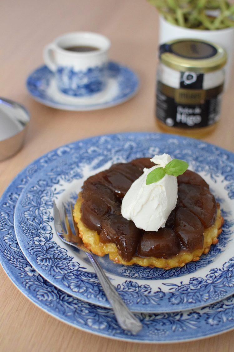 La tarte tatin aux figues | LovaLinda | Blog Cuisine Recettes Dessert | Pâtisserie