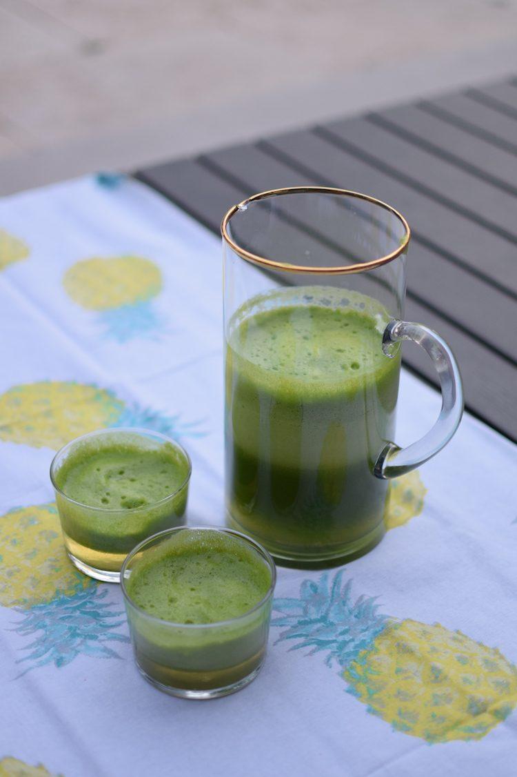 Le jus de persil | LovaLinda | Blog Cuisine Recette Boisson Detox
