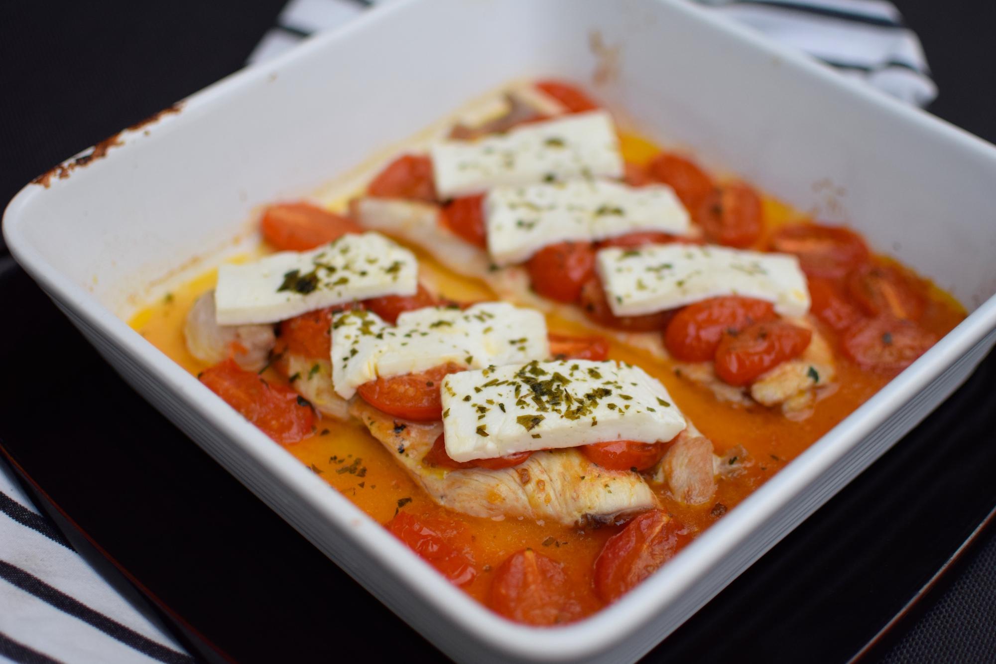 Les escalopes de dinde à la feta et tomates cerises | Blog | Cuisine Plat Recette