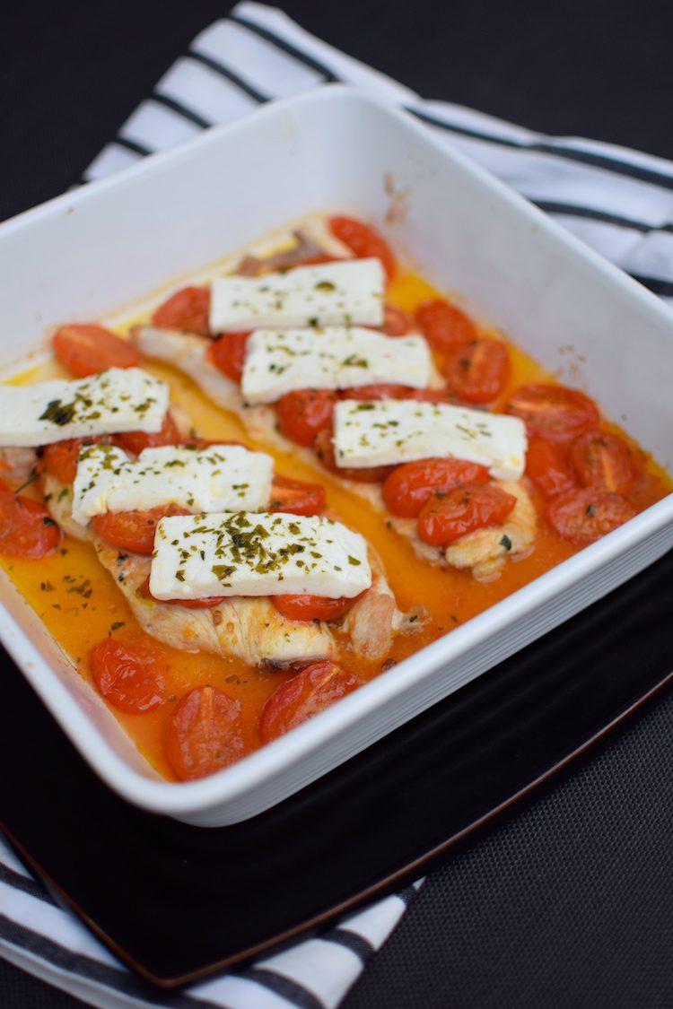 Les escalopes de dinde à la feta et tomates cerises | Blog | Photo | Cuisine Plat Recette