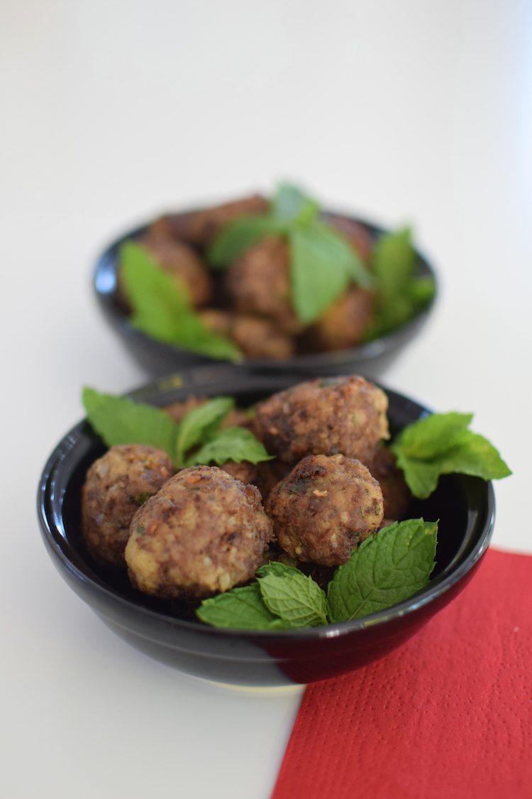 Les boulettes de viande hachée mentholées | Blog | Cuisine Recettes Apéritif