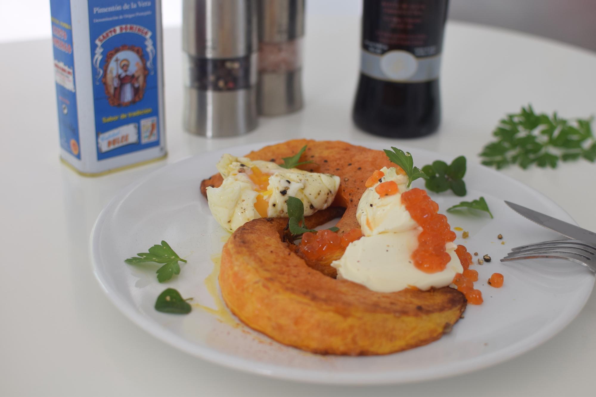 La courge tiède aux 2 œufs | LovaLinda | Blog Cuisine Photo Marseille