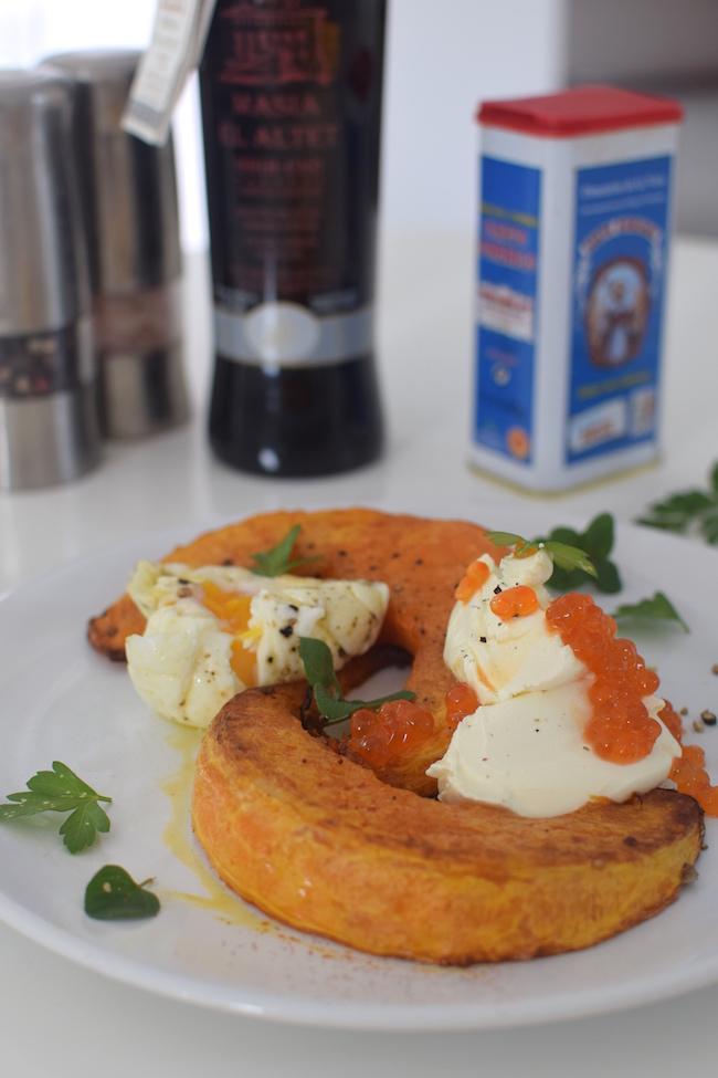 La courge tiède aux deux œufs | LovaLinda | Blog Cuisine Photo Marseille