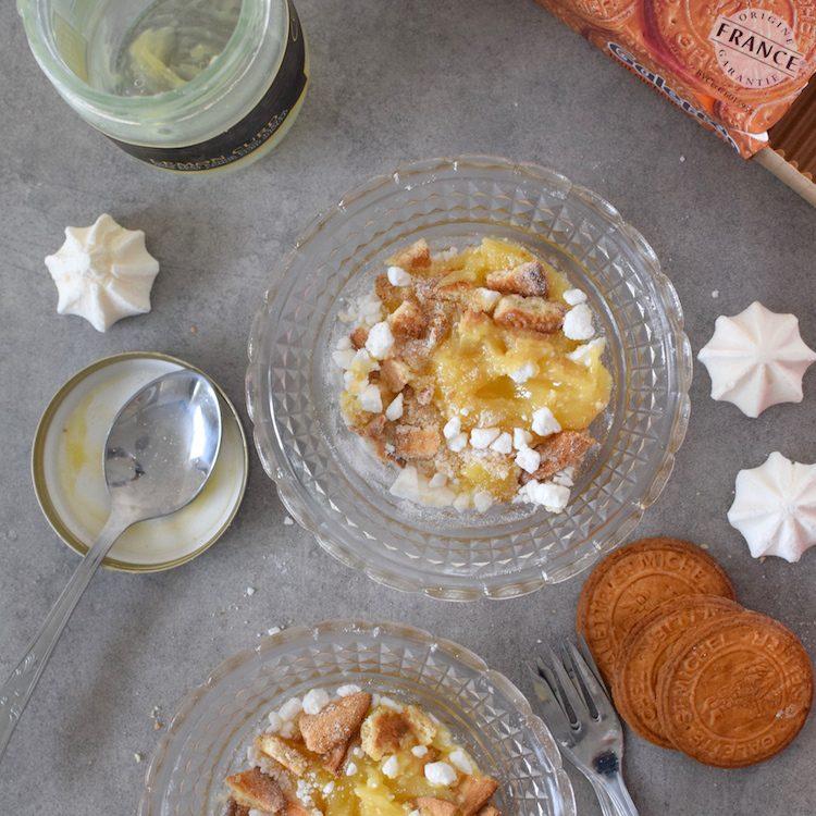 La tarte citron en mille morceaux | LovaLinda | Blog Photo Cuisine Recettes | Dessert | Galettes Mont Saint Michel Lemon Curd Meringues