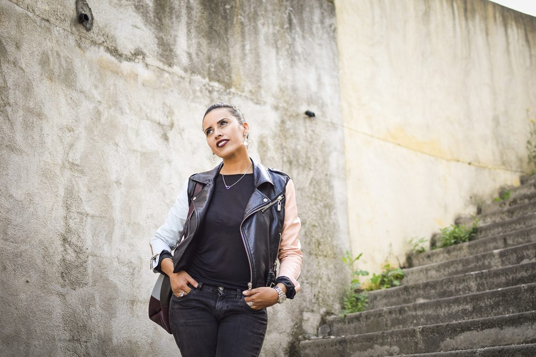 lady-rock-lovalinda-blog-mode-outfit-look-lookbook-blogueuse-photographie-marseille-france-nasty-gal-leather-biker-jacket-x-notify-jeans-x-tara-jarmon-top-x-asos-earrings
