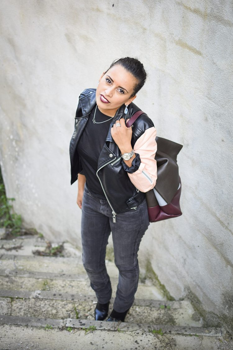 lady-rock-lovalinda-blog-mode-outfit-look-lookbook-blogueuse-photographie-marseille-france-nasty-gal-leather-biker-jacket-x-notify-jeans-x-tara-jarmon-top-x-gianvito-rossi-boots-x-asos-earrin
